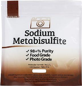 Duda Energy meta05 Sodium Metabisulfite Food Grade/Photo Grade 98, 5 lb.