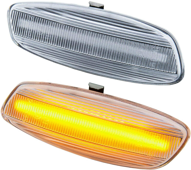 7810-1 rm-style LED SEITENBLINKER schwarz Smoke