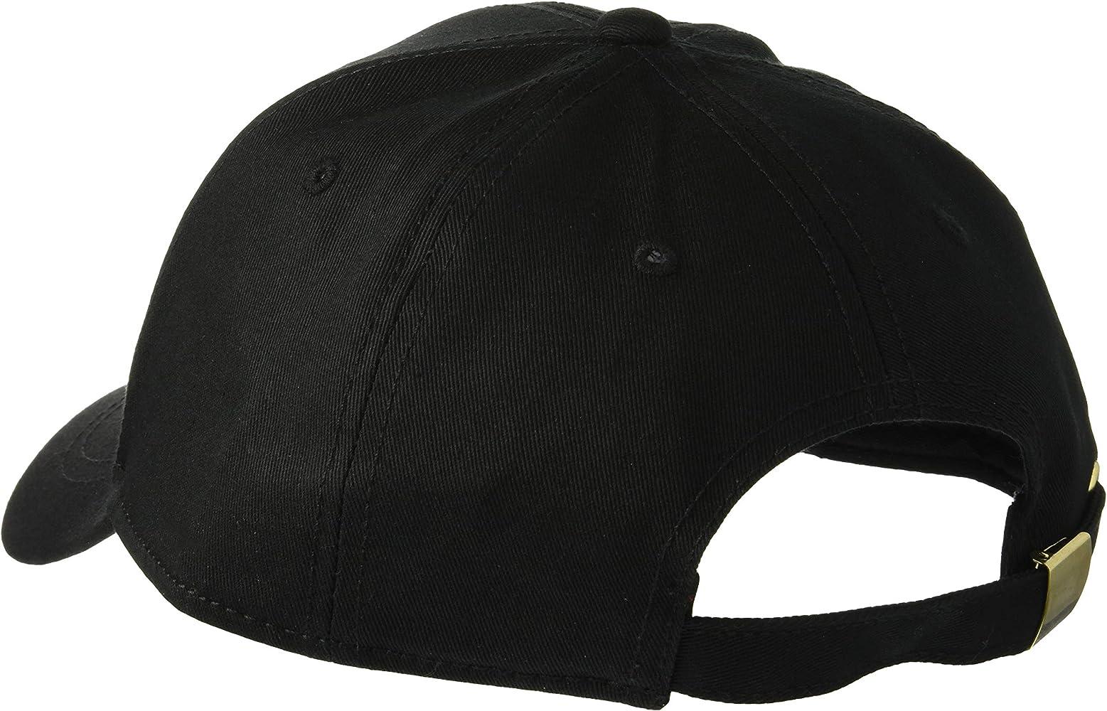 VERSACE JEANS COUTURE Hat Gorra de béisbol, (Negro Y6a), única ...