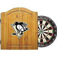Pittsburgh Penguins Dart Cabinet Set