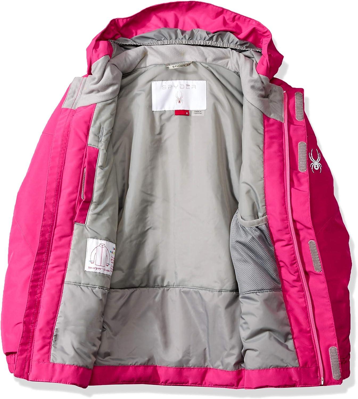Spyder Kids /& Baby Girls Bitsy Charm Ski Jacket