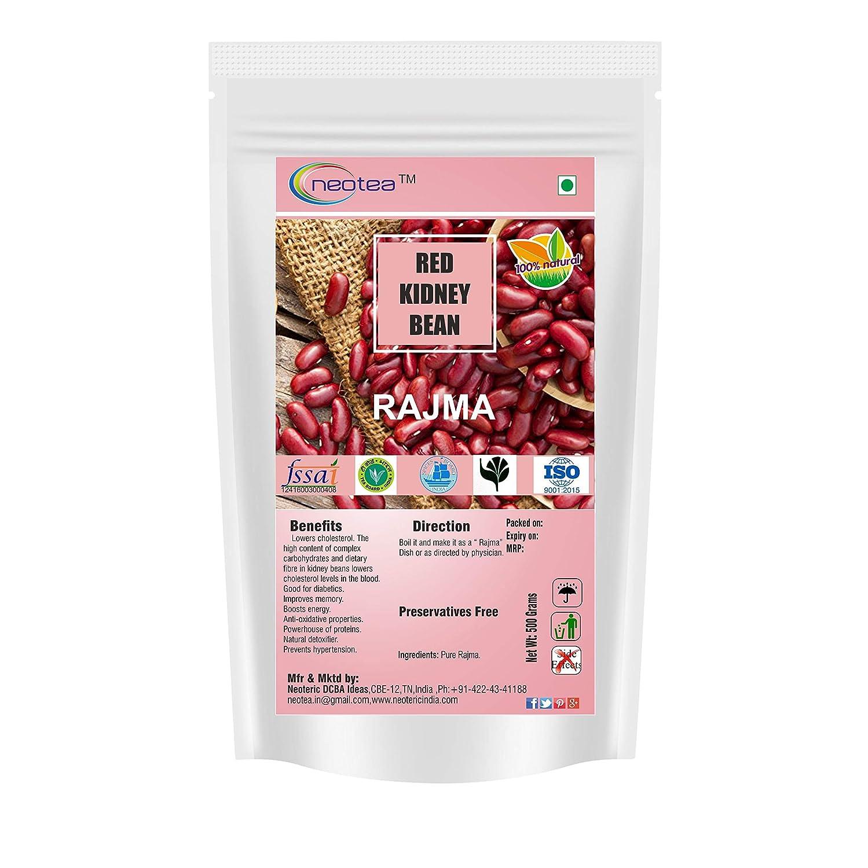 Neotea Rajma Red Kidney Bean Karamani Bakla Phaseolus Vulgaris 500g Amazon In Grocery Gourmet Foods