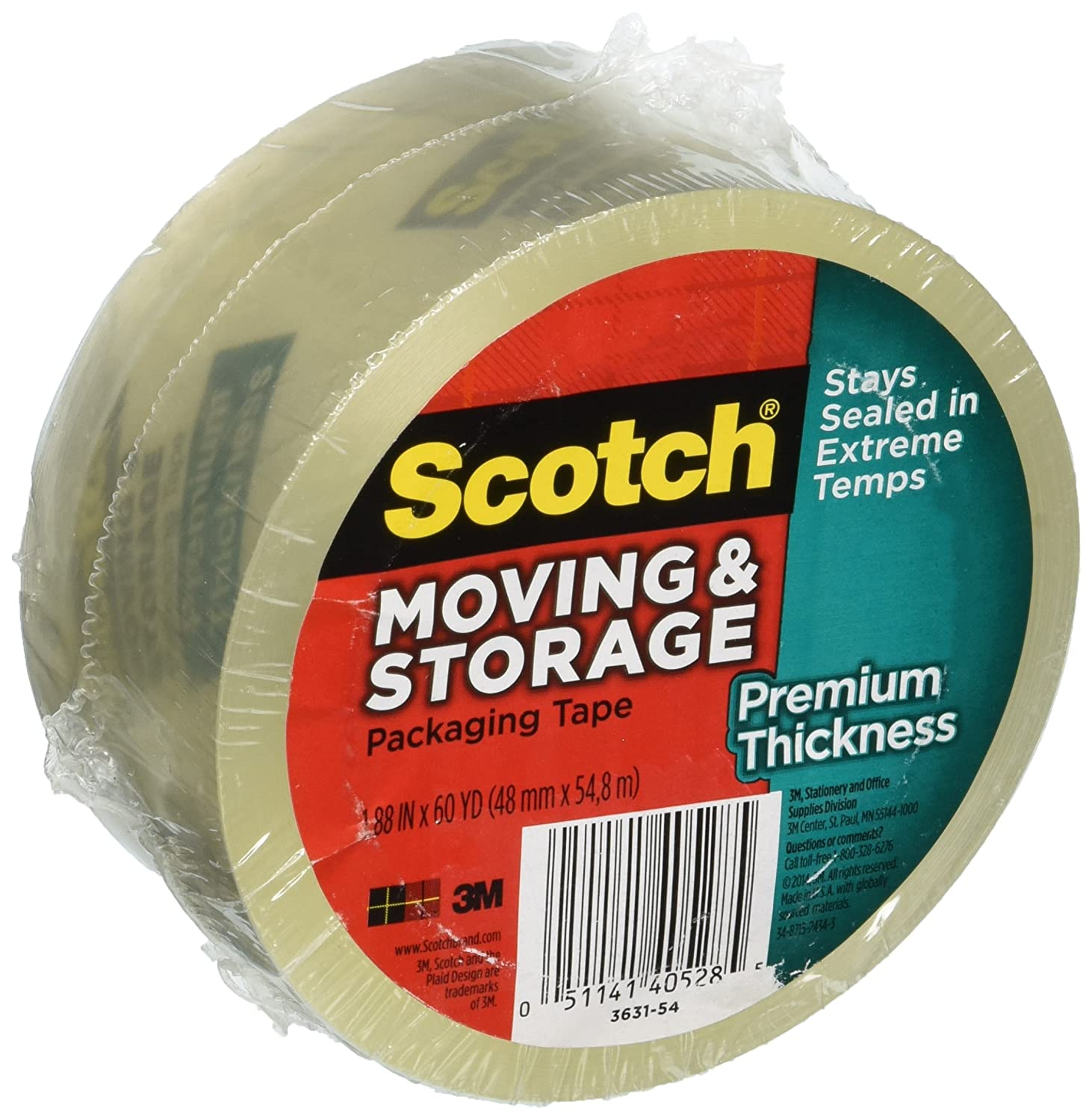 3M Scotch Moving/Storage Packaging Tape B00U7VZWKK