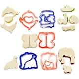 Andrew James Children's Sandwich Cutters - Set of 5 - Fun Shapes!
