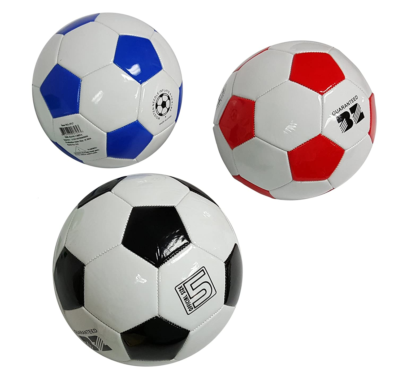 2 Pack - regulación de balón de fútbol - tamaño 5 tradicional ...