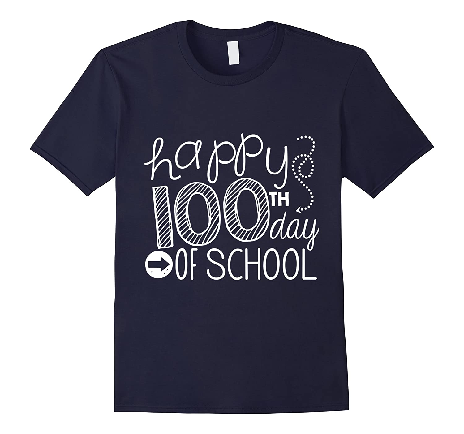 100th Day Of School T Shirt, Teacher's 100th Day T Shirt-BN
