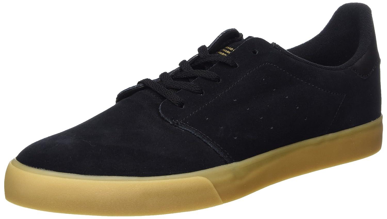 adidas Seeley Court Black Gum Gold  46 EU|Schwarz