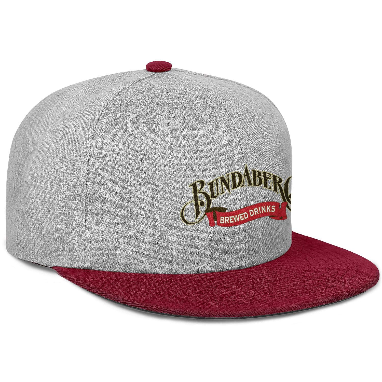 LZJDY Bundaberg Australian Root Men Womens Wool Baseball Cap Adjustable Snapback Summer Hat