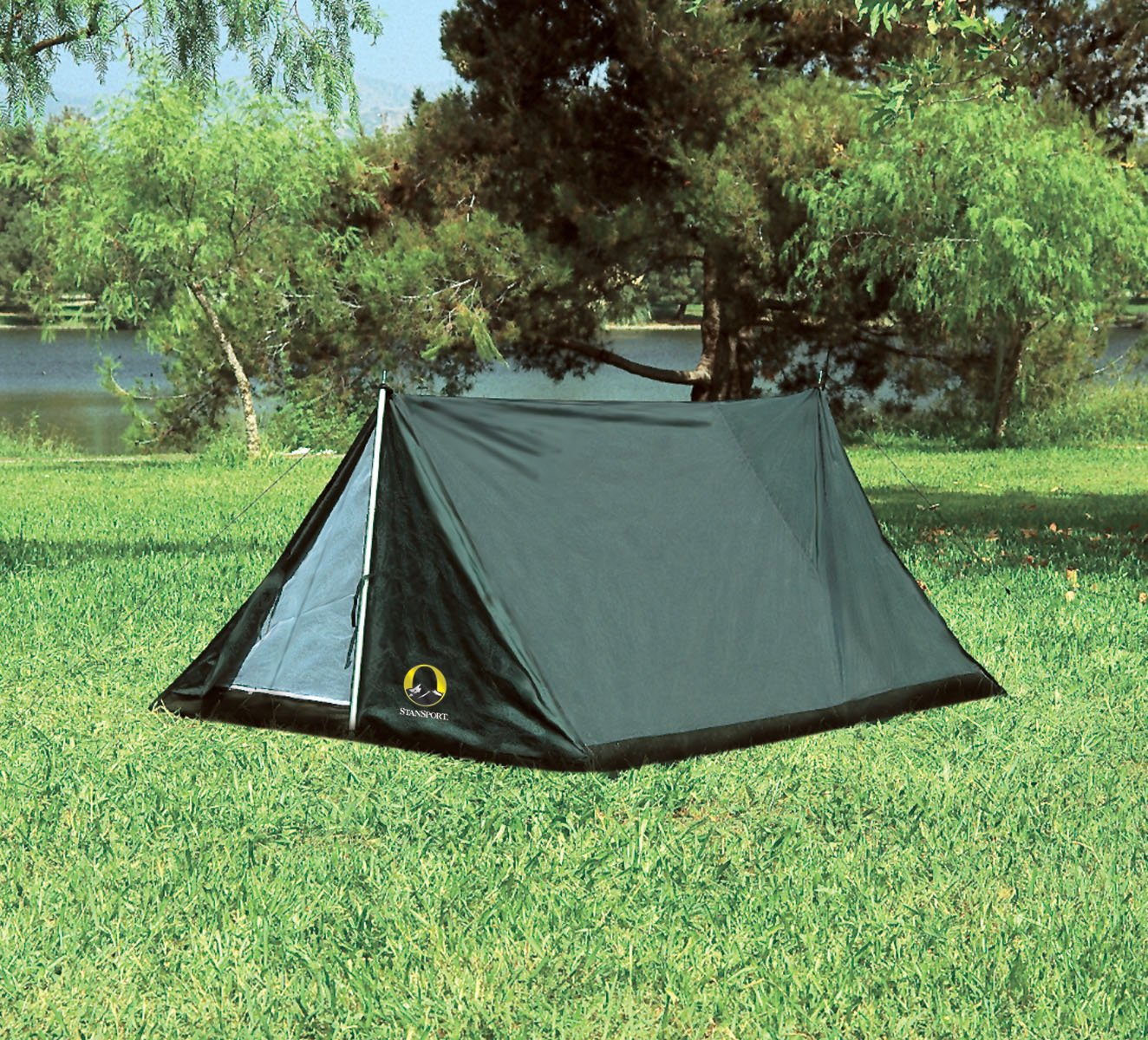Amazon.com  Stansport Scout A-Frame Backpackers Tent Green  Pup Tent  Sports u0026 Outdoors & Amazon.com : Stansport Scout A-Frame Backpackers Tent Green : Pup ...