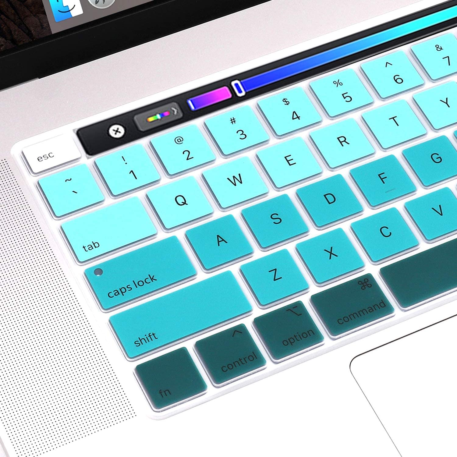 Pink 2020 2019 MacBook Pro 16 Inch with Touch Bar and Touch Id Model A1932,Protector Silicone Keyboard Cover Skin Us Verstion