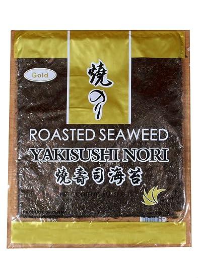 Yakisushi Nori Roasted Seaweed Gold, 10 Sheets (28g)