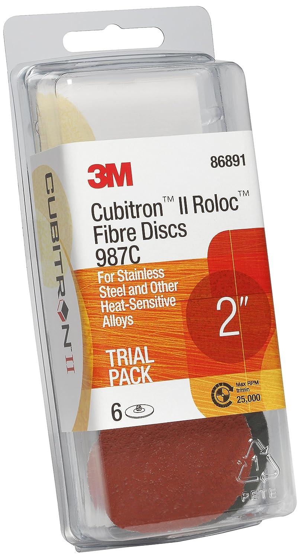 3 in 3M Cubitron II Roloc Fiber Disc Trial Pack TR 987C 1 Trial Pack