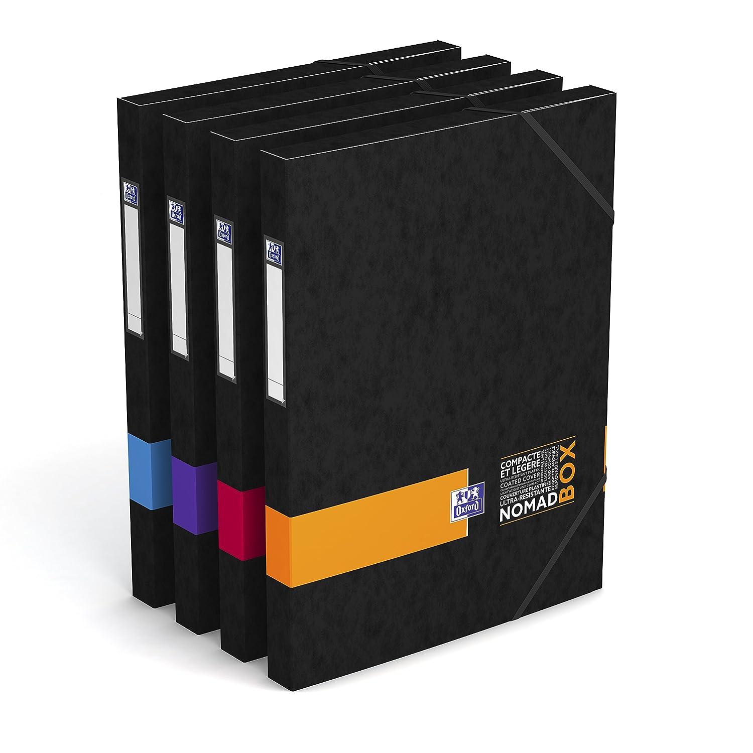 Oxford nomad' Box Scatola di archivio dorso 25mm colori casuali Hamelin Brands 400066000