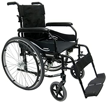 Admirable Amazon Com Karman Ultra Lightweight Wheelchair In 16 Inch Machost Co Dining Chair Design Ideas Machostcouk