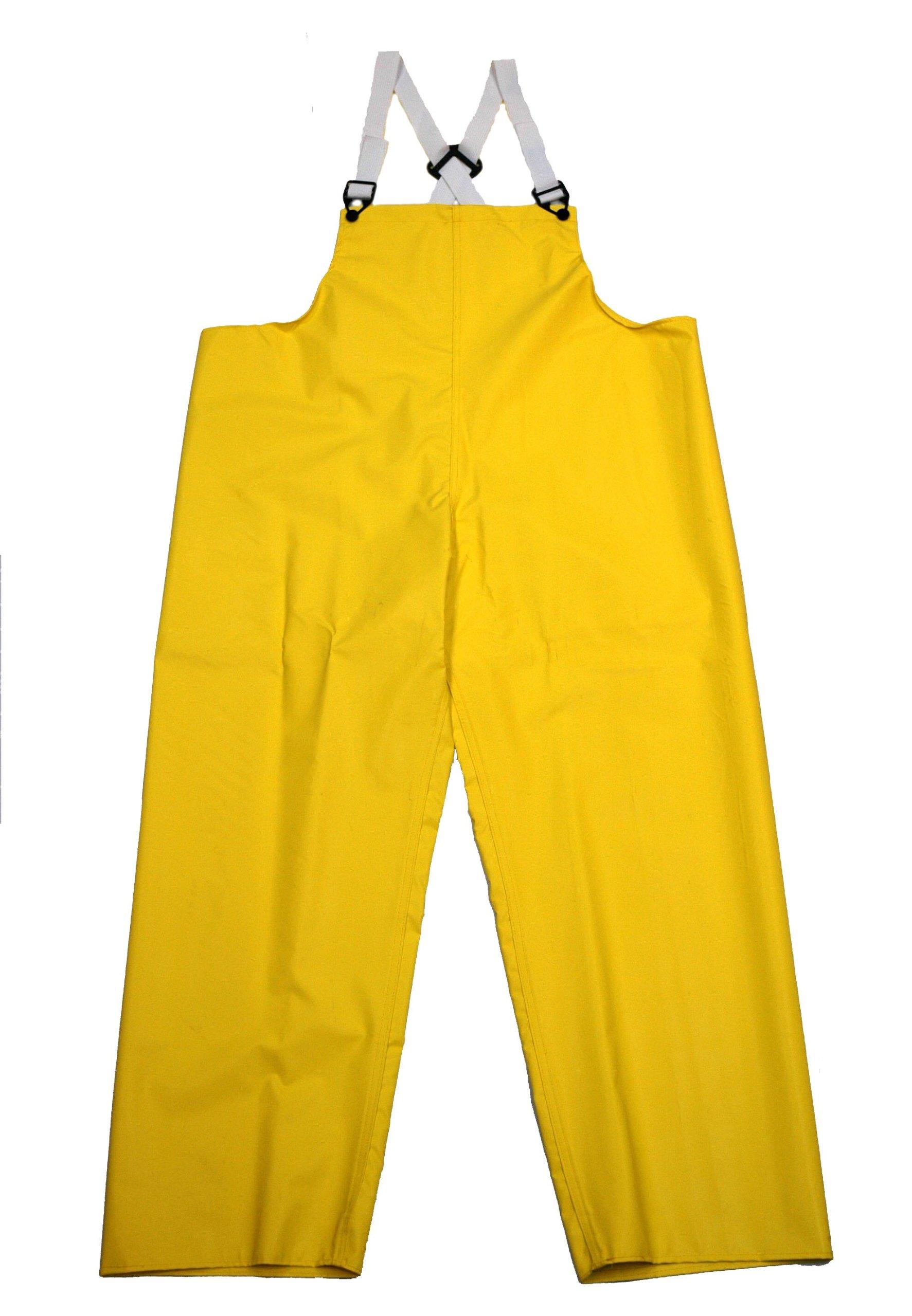 Neese 45BT Flame Resistant Neoprene/Nylon Magnum Bib Trouser, Medium, Green