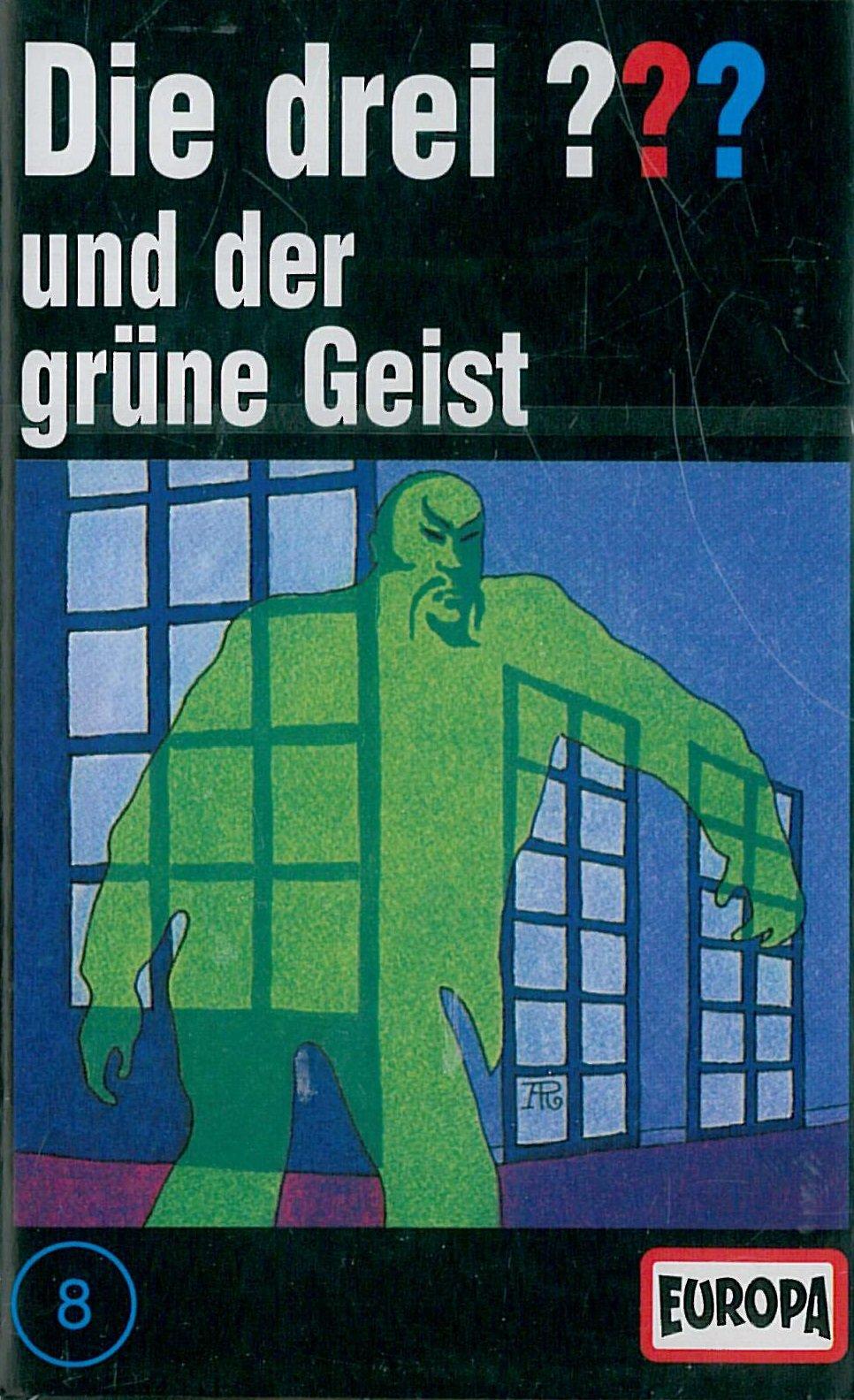 Die drei ??? - MC/Die drei ??? - und der grüne Geist Hörkassette – Audiobook, 31. Oktober 1979 Alfred Hitchcock BMG Ariola Miller 386536439X Detektiv