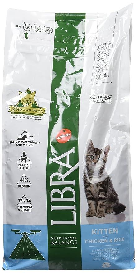 LIBRA Pienso para gatos kitten pollo y arroz 1,5 kg