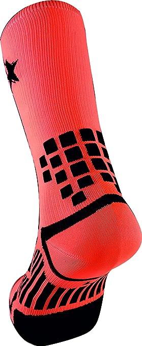 TKS Vacceo Calze a compressione graduata Arancione//Nero Running HI Trail run.S Bike HI 36-39