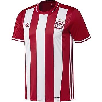 Adidas H JSY Camiseta 1ª Equipación Olympiacos FC 2015/2016, Hombre: Amazon.es: Deportes y aire libre