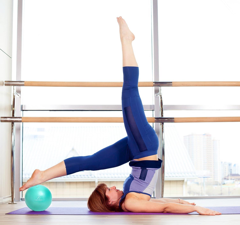 Bonarty Yoga Ball Gymnastikball Trainingsball Fitnessball Pilates Ball Pezziball Sitzball Yoga /Übungsball