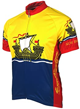 Adrenaline Promotions Canadian Provinces New Brunswick Cycling Jersey 925a705dc