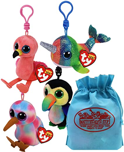 Amazon.com: Ty Beanie Boos Clips (3