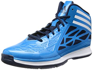new product c79ed 59a6d Adidas Crazy Fast 2, Chaussures de basket-ball homme - Bleu (Olblu