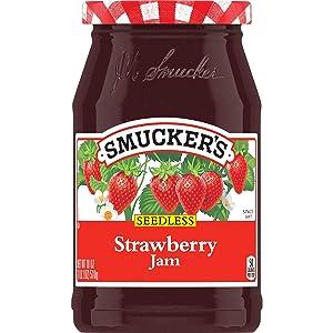 Smucker's Seedless Strawberry Jam, 18 Ounces