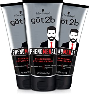 product image for Got2b Phenomenal Thickening Hair Styling Cream, 6 Ounce, 3 Count