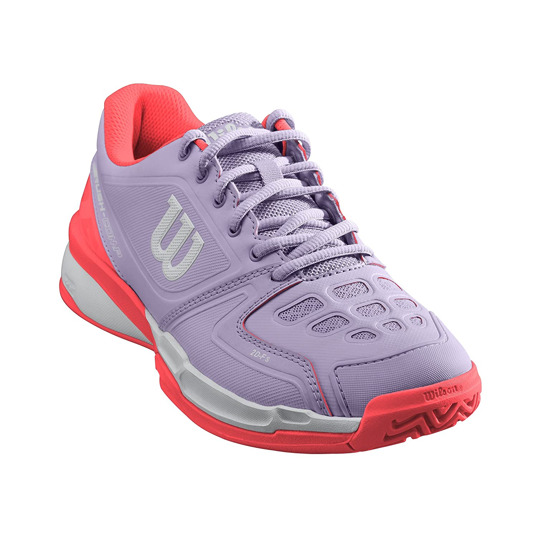 Wilson Rush Comp W, Zapatillas de Tenis para Mujer, Lila/Coral ...