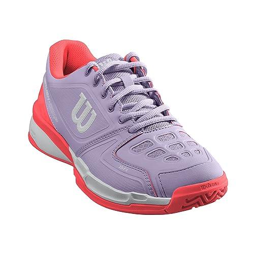 Wilson Rush Comp W, Zapatillas de Tenis para Mujer: Amazon.es: Zapatos y complementos