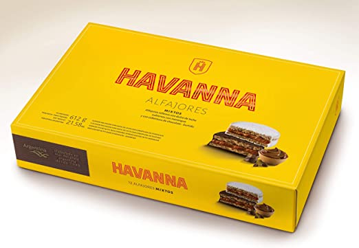 HAVANNA- Alfajores mixtos 12 unidades- 612 grs: Amazon.es: Alimentación y bebidas