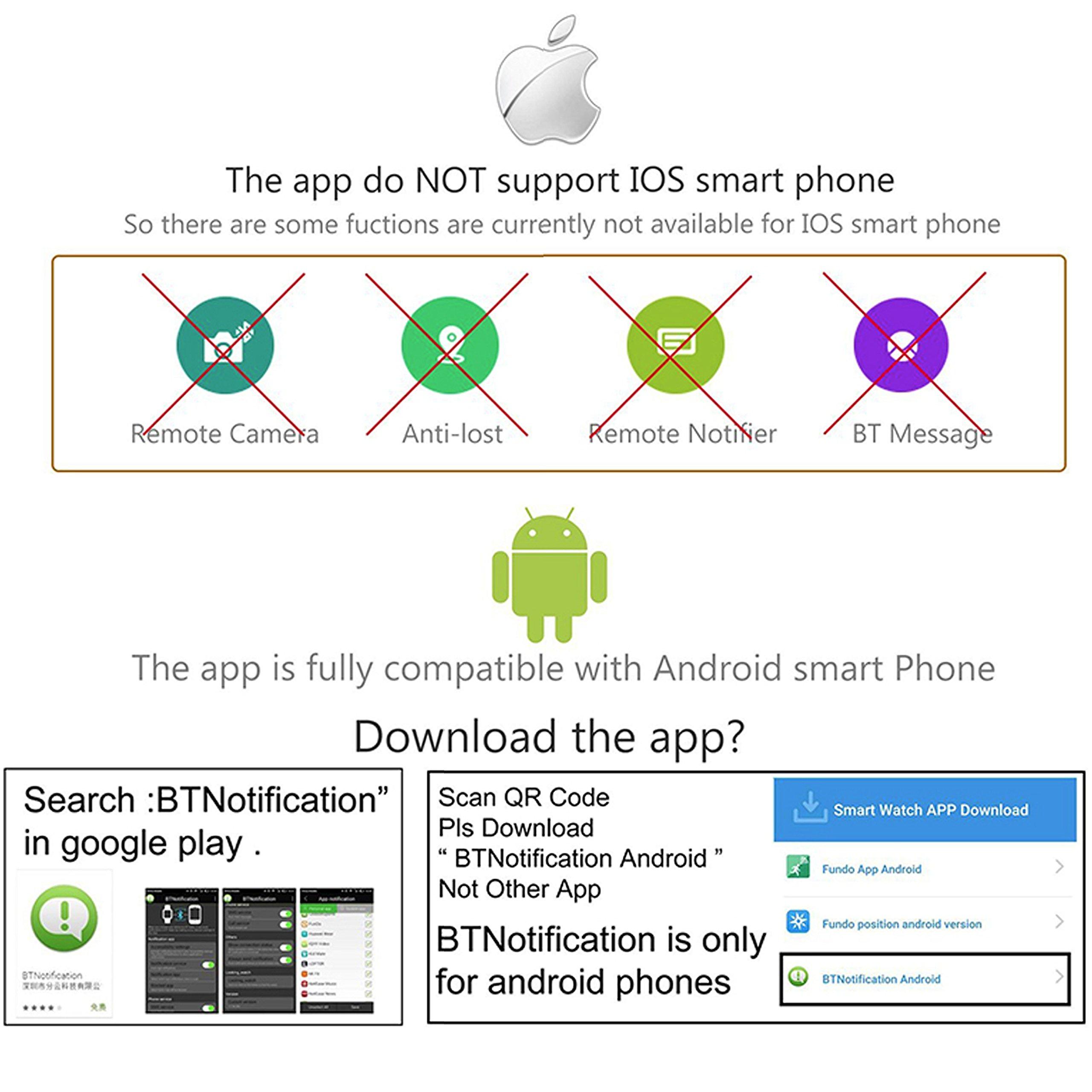 bt notifier app in remote device iphone