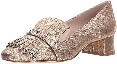 8883186b16b Nine West Women s WESH Metallic Penny Loafer Pink 9 ...