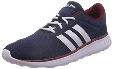 6f1464a6 adidas neo Men's Lite Racer Conavy, Ftwwht and Cburgu Sneakers - 6 UK/India