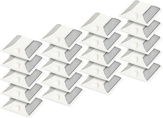 White Reflective Road Driveway Marker Heavy-Duty Commercial Grade Reflective Pavement Marker 2 Pack