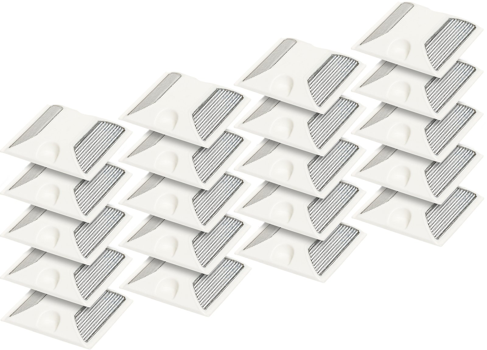 (20 Pack) Commercial Reflective Road Pavement Marker (White)