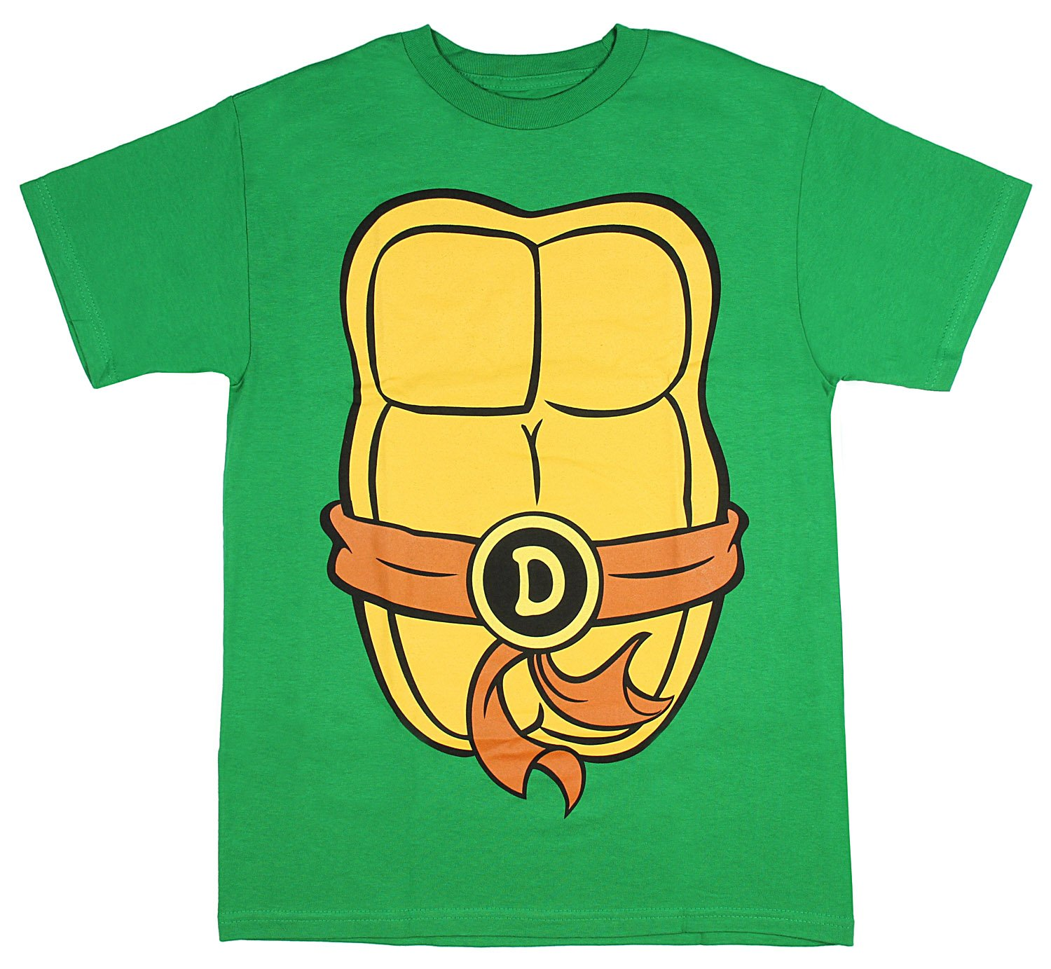 Teenage Mutant Ninja Turtles Adult Costume T-Shirt (Don Brown, Medium)