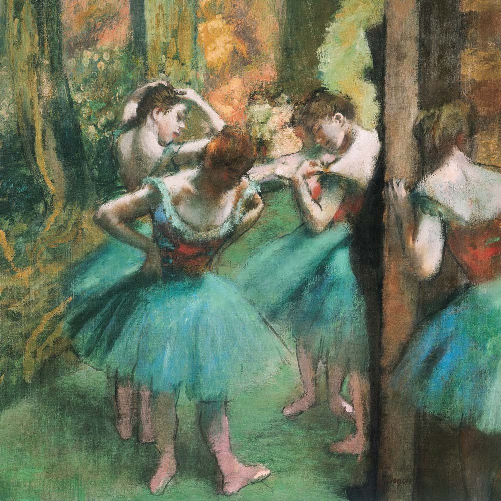 Edgar Degas Ballerinas (170522): Edgar Degas: 9783960130963: Amazon.com:  Books