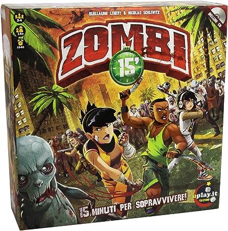 Uplay.it - Zombie 15 Juego de Mesa: Amazon.es: Juguetes y juegos