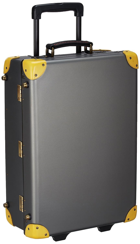 [クルーニー] トランクキャリー | 30L | ハンドメイドインジャパン | ヴィンテージ仕上げ | TSAロック | ステッカー付 | keyタグ付き | 機内持込可 保証付 30L 55cm 3.6kg CY30003CTM B076SMYZTKチタン/イエロー
