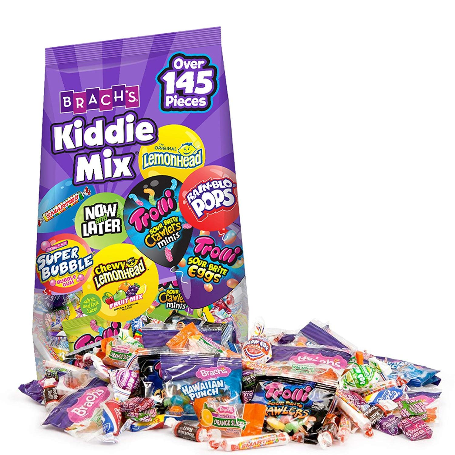 Candy Mix Kiddie Assorted, Fresh Bag, 145 Count - ( 1 Bag )