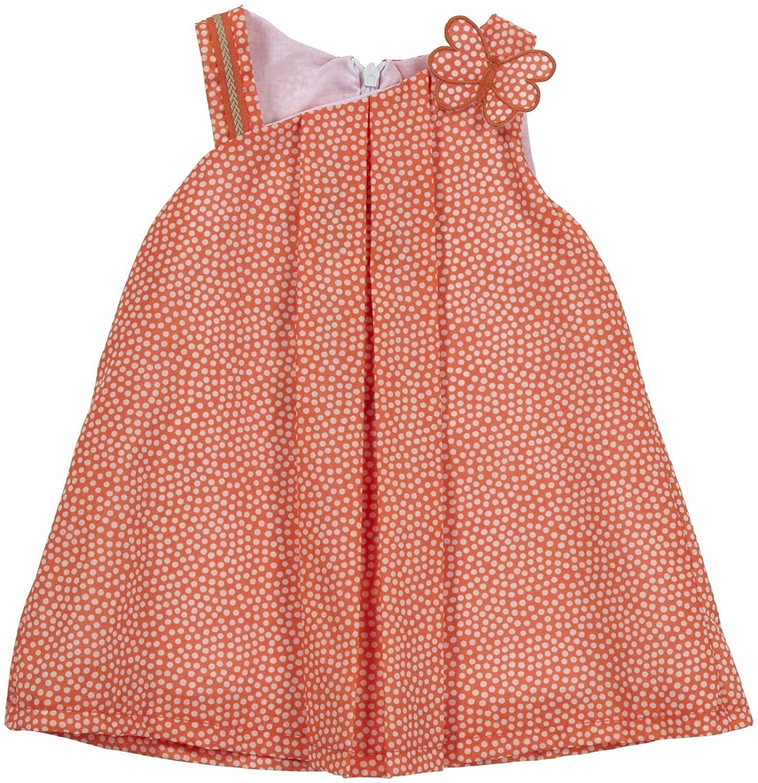 Girandolaベビー女の子ドレス(ベビー) 12 Months オレンジ B00K0G313C