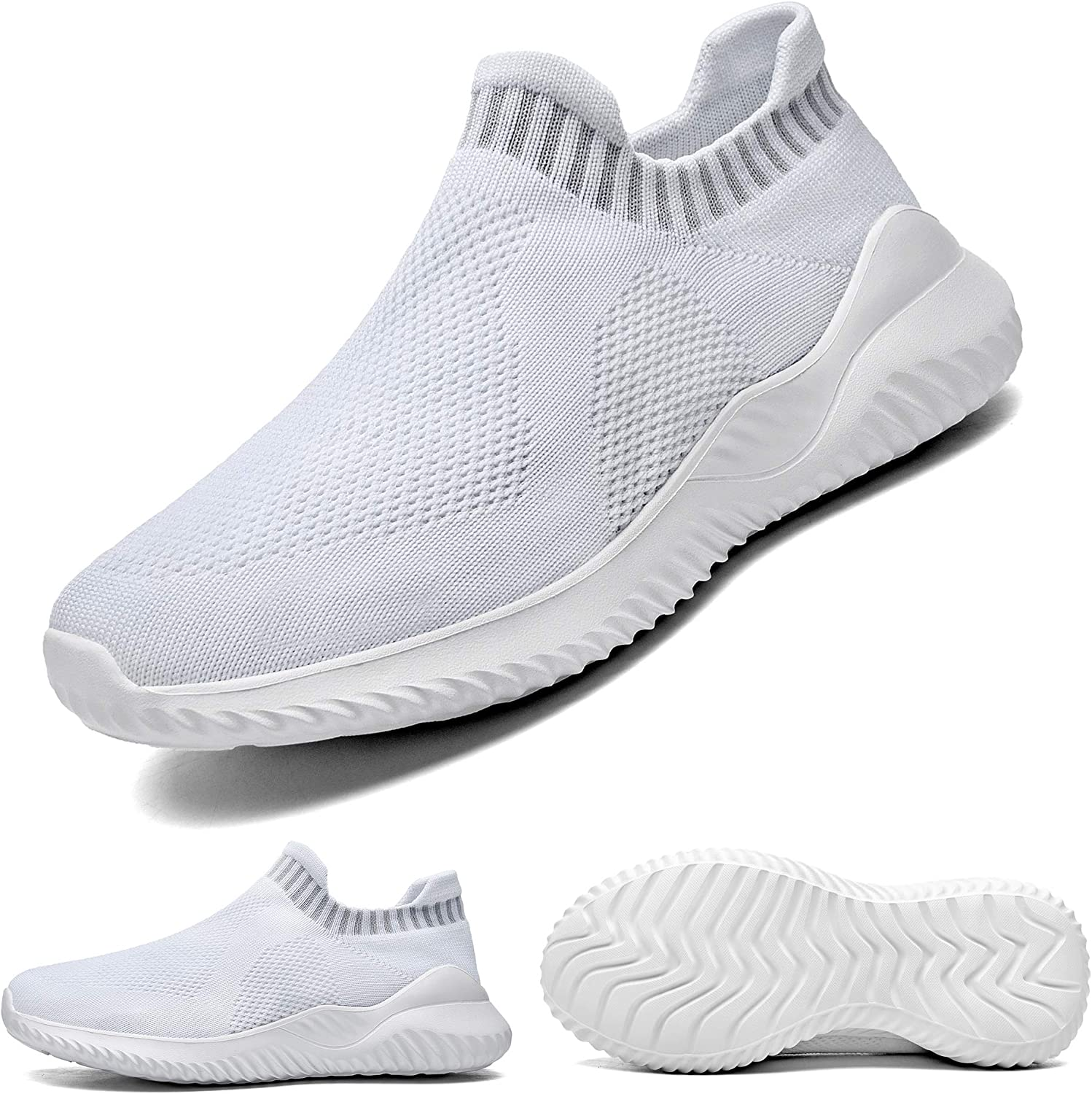 Women/'s Walking Sneakers Breathable Knit Sports Running Tennis Casual Gym Shoes