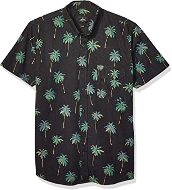 Rip Curl Torrey - Camisa de manga corta para hombre - Negro - Small: Amazon.es: Ropa y accesorios