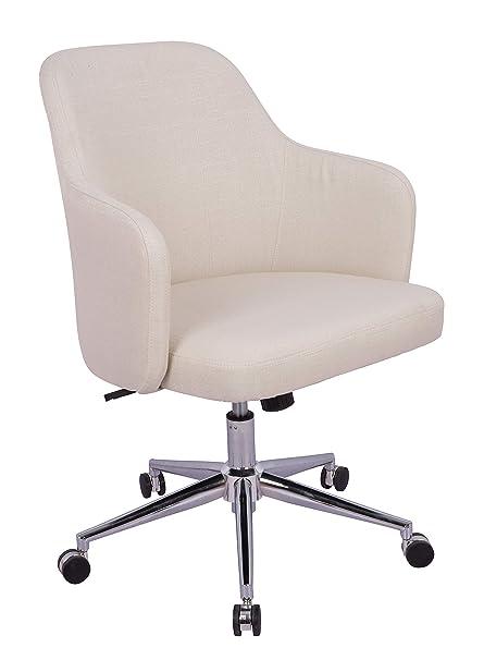 Astonishing Amazonbasics Classic Adjustable Office Desk Chair Twill Fabric Beige Bifma Certified Spiritservingveterans Wood Chair Design Ideas Spiritservingveteransorg