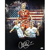 $131 » Megan Rapinoe Signed Photo - 16x20 USA Spotlight Beckett BAS Stock #161477 - Beckett Authentication - Autographed Soccer Photos