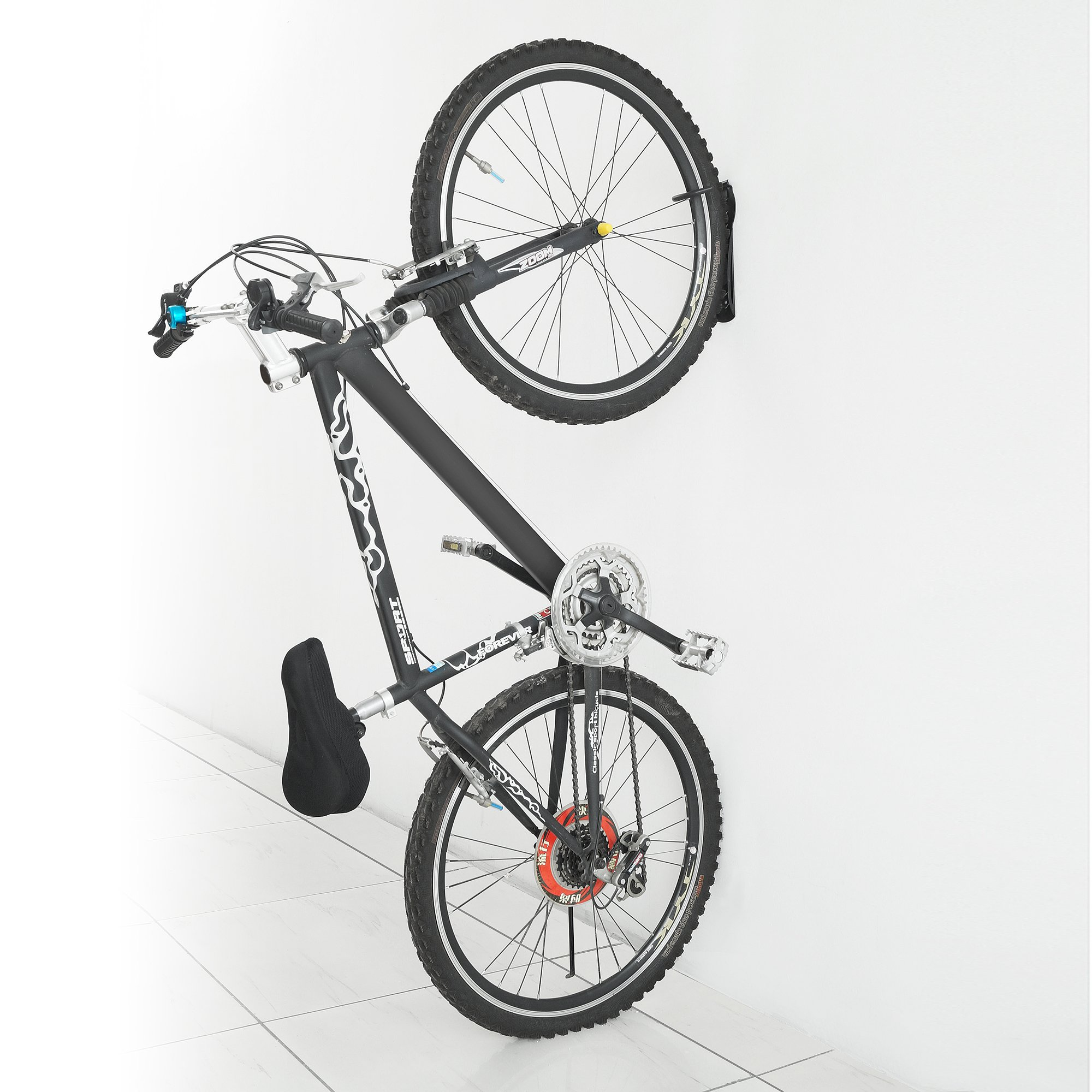 Bike Lane Products Bicycle Wall Hanger Bike Storage System for Garage or Shed Vertical Bicycle Storage