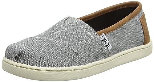 TOMS Youth Alpargata Frost Grey, Unisex Niños: Toms: Amazon.es: Zapatos y complementos