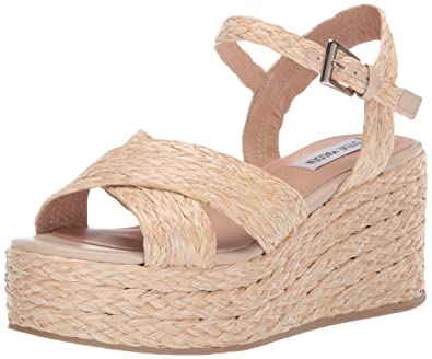 47fbb320ab Amazon.com | Steve Madden Women's Pam Wedge Heel | Platforms & Wedges